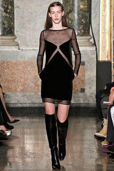Emilio Pucci Fall 2012 Ready-to-Wear Fashion Show - Elena Bartels