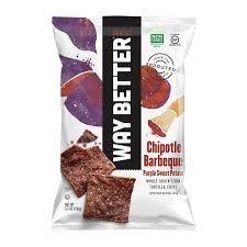 Way Better Snacks Chipotle Barbeque Tortilla Chips Oz Bags Packaging Snack, Organic Packaging, Food Branding, Food Packaging Design, Purple Sweet Potatoes, Tortilla Chips, Potato Chips, Bottle Design, Package Design