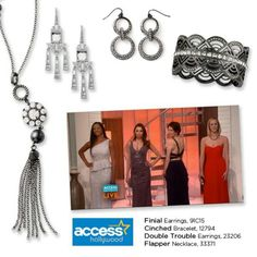 Lia Sophia jewelry featured on Access Hollywood.