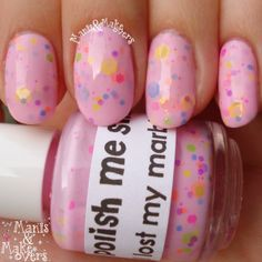 Manis & Makeovers: Swatch-It Sunday: I Lost My Marbles by Polish Me Silly http://manisandmakeovers.blogspot.com/2014/03/swatch-it-sunday-i-lost-my-marbles-by.html