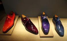 Visit of shoemaker Corthay in Paris Hot Shoes, Men's Shoes, Shoe Boots, Dress Shoes, Spectator Shoes, Fashion Shoes, Mens Fashion, Formal Shoes For Men, Luxury Shoes