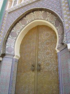Kings Palace Doors, Morrocco