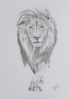 I love lion tattoos so much. I think my arm Is too skinny to get one though... Haha. I really want one..