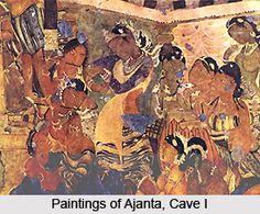Paintings Of Ajanta Gupta Period to Chalukya period 5th-7th century