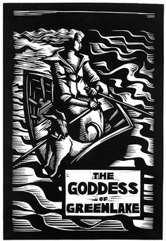 """""""The Goddess of Greenlake""""by Constance Sprague, cover art uncredited"""