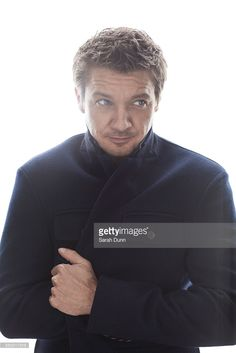 Actor Jeremy Renner is photographed on April 29, 2014 in London, England.