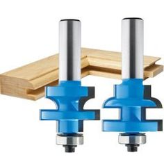 """Rockler Round Rail and Stile Router Bit - 1-5/8"""" Dia x 1"""" H x 1/2"""" Shank Rockler Woodworking, Beginner Woodworking Projects, Kids Woodworking, Bit Set, Raised Panel Doors, Tongue And Groove, Wood Dust, Router Bits, Cabinet Styles"""