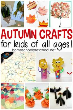 Leaves, Scarecrows, Apples, Pumpkins And More. These Easy Activities And Crafts Are Perfect Along Side Your Autumn Preschool Lessons Preschool Art Projects, Fall Preschool, Preschool Lessons, Preschool Crafts, Projects For Kids, Teaching Kindergarten, Fine Motor Activities For Kids, Autumn Activities, Craft Activities