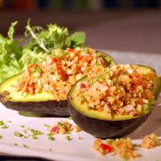Platos Latinos, Blog de Recetas, Receta de Cocina Tipica, Comida Tipica, Postres Latinos: Aguacate Relleno - Recetas Cubanas