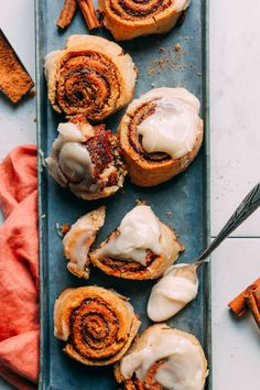 AMAZING Vegan Gluten-Free CINNAMON ROLLS! 10 ingredients, simple methods, SO tender and delicious! #vegan #plantbased #dessert #cinnamonrolls #recipe #glutenfree #minimalistbaker