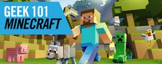 Geek 101: Minecraft | Geek Girl Pen Pals Club #IGGPPC