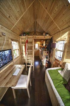 Cozy, tiny space.
