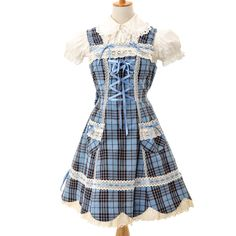 http://www.wunderwelt.jp/products/detail5506.html ☆ ·.. · ° ☆ ·.. · ° ☆ ·.. · ° ☆ ·.. · ° ☆ ·.. · ° ☆ Plaid dress BABY THE STARS SHINE BRIGHT ☆ ·.. · ° ☆ How to order ☆ ·.. · ° ☆ http://www.wunderwelt.jp/user_data/shoppingguide-eng ☆ ·.. · ☆ Japanese Vintage Lolita clothing shop Wunderwelt ☆ ·.. · ☆