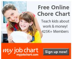 Here's an awesome freebie for you! You can get a FREE online chore chart! Snag the freebie here: FREE Online Chore Chart Age Appropriate Chores For Kids, Chore Chart Kids, Chore Charts, Job Chart, Money Saving Mom, Charts For Kids, Programming For Kids, Help Teaching, My Job