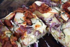 Bacon, Leek and Gouda Pancake | Oh My Gouda! | Pinterest | Gouda ...