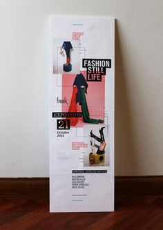 Freëk - Expo Foto - Fashion Still Life by Laura Guarie, via Behance - Posters Flyer Inspiration, Banner Design Inspiration, Editorial Layout, Editorial Design, Rollup Design, Standee Design, Banners, Arte Fashion, Fashion Design