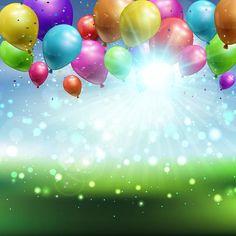 Happy Birthday Writing, Cute Happy Birthday, Happy Birthday Celebration, Happy Birthday Photos, Happy Birthday Balloons, Happy Birthday Greetings, Birthday Background Images, Balloon Background, Balloon Pictures