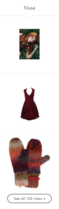 """Nisse"" by scarlet-locks ❤ liked on Polyvore featuring home, home decor, people, dresses, red dresses, short dresses, vestidos, purple dresses, red mini dress and short velvet dress"