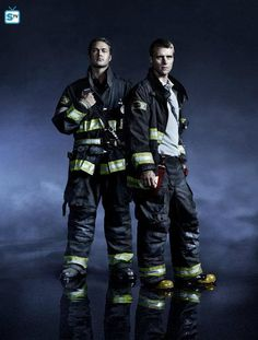 Chicago Fire - Season 2 - New Cast Promotional Photo of Severide and Casey