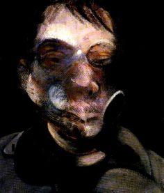 Francis Bacon, Three studies for self-portrait, 1979.