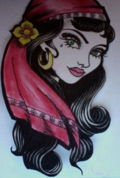 @Stephanie Francis Sofia- This gypsy flash totally reminds me of you!