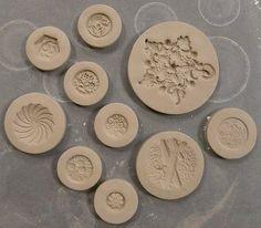 pottery molds.