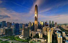 World welcomes new Fourth Tallest Building- Ping An Finance Center by Kohn Pedersen Fox Associates
