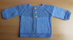 Résultats de recherche d'images pour «gilet bébé tricot gratuit»