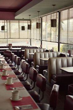Retro Diner, 1950s Diner, Vintage Diner, Retro Cafe,