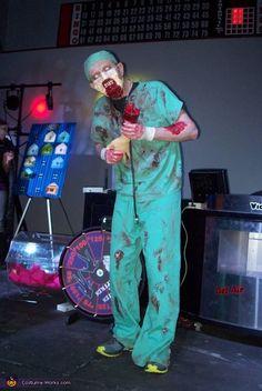 Zombie Doctor - Halloween Costume Contest via