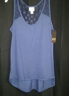 Brand new Blue star tank from Converse!