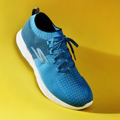 Get up and go with the Skechers Go Run 6 trainers. The bold blue is a must have.