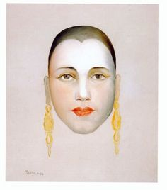Self-Portrait - Tarsila do Amaral