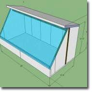 How We Designed Our Solar Greenhouse Passive Solar Greenhouse in Calgary by Verge Permaculture--good info about materials used, dimensions, etc Lean To Greenhouse, Cheap Greenhouse, Backyard Greenhouse, Greenhouse Plans, Greenhouse Wedding, Greenhouse Film, Pallet Greenhouse, Underground Greenhouse, Homemade Greenhouse