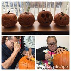 Pumpkin carving on the LA Campus. #fremontcollege #pumpkincarving #pumpkin #halloweenfun