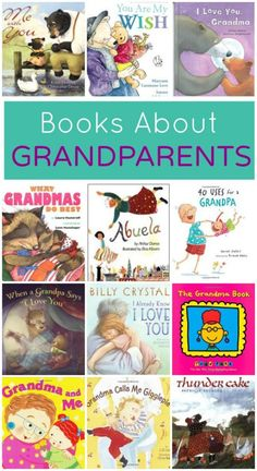 Collection of books about grandparents. Read for Grandparents Day or any day to celebrate the special role grandparents play in kids' lives. Best Books List, Good Books, Books To Read, Book Lists, Reading Lists, Kids Reading, Preschool Books, Book Activities, Preschool Kindergarten