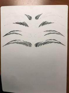 Microblading EyebrowsFillIn EyebrowsFillIn Microblading is part of eye-makeup - eye-makeup Eyebrows Sketch, Mircoblading Eyebrows, How To Draw Eyebrows, Permanent Makeup Eyebrows, Semi Permanent Makeup, Eyebrow Makeup, Eyelashes, Eyebrow Design, Filling In Eyebrows