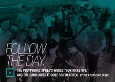 Follow The Day. Central Track, South Korea, Kicks, Tours, World, Day, Music, Movies, Movie Posters