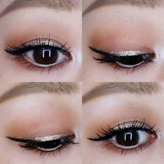 glitter liner  #今日のメイク#アイメイク#メイク#化粧#アイライナー#glitterliner #eyemakeup#makeup#eyelook #instamakeup #mixingmedium #MAC#maccosmetics#maceyeshadow#eotd#motd#hoodedeyes#asianmakeup#asianeyes #japanesemakeup by romi699667