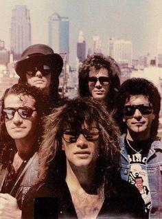 Bon Jovi in the 80s!  I saw them in concert twice!