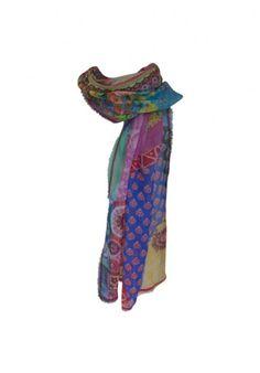 Holi linen shawl