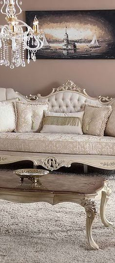Ideas Luxury Furniture Sofa House For 2019 Luxury Furniture Sofa, Luxury Furniture, Furniture, Luxury Dining Room, Classic Furniture Living Room, Sofa Furniture, Rococo Furniture, Furniture Sofa Set, Sofa Design