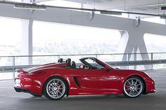 Nach dem Cayman GT4 lässt Porsche auch seinen Roadster in puristischen Gefilden wildern. Mit 375 PS ist der Spyder der stärkste Boxster aller Zeiten.