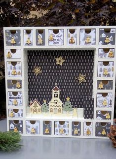 Days To Christmas, Nordic Christmas, Magical Christmas, Homemade Advent Calendars, Wooden Advent Calendar, Christmas Crafts, Christmas Decorations, Holiday Decor, Advent Calenders