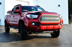 2017-2016 Toyota Tacoma with a BPF Grill
