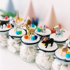 Let's Celebrate! Cute idea for kids party favors – My CMS Wild One Birthday Party, Safari Birthday Party, Circus Birthday, Animal Birthday, Jungle Party, First Birthday Parties, Party Animals, Party Animal Theme, Birthday Party Favors