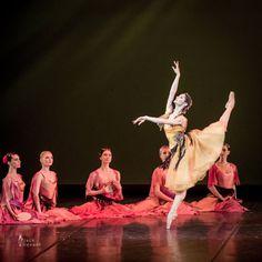Oksana Kardash and Soloists from Stanislavsky Ballet in La Esmeralda. Music by Cesare Pugni, choreography by Vladimir Burmeister.  © Jack Devant