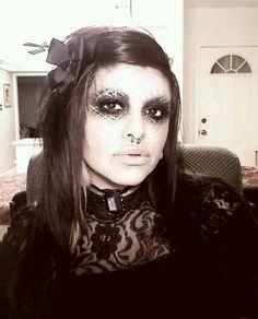Victorian Gothic makeup