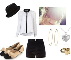 """""""Red - Taylor Swift inspired outfit."""" by thataveragedreamer on Polyvore"""