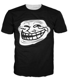 Troll Face T-Shirt http://www.jakkoutthebxx.com/products/troll-face-t-shirt?utm_campaign=social_autopilot&utm_source=pin&utm_medium=pin  #wanelo #shoppingtime #whattobuy #onlineshopping #trending #shoppingonline #onlineshopping #new